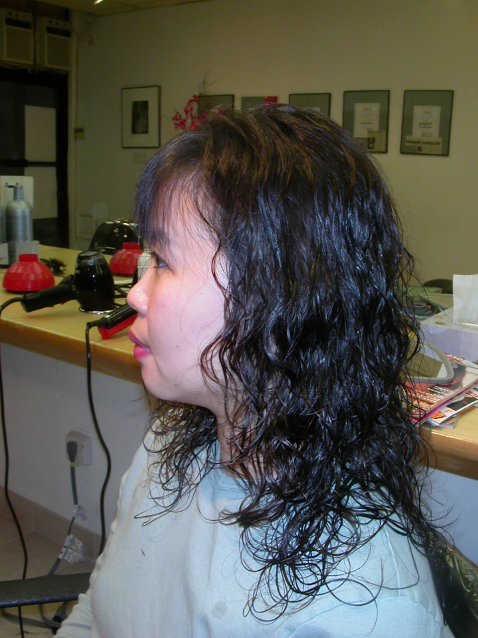Hair Salon Perm : Perm Hair Before After